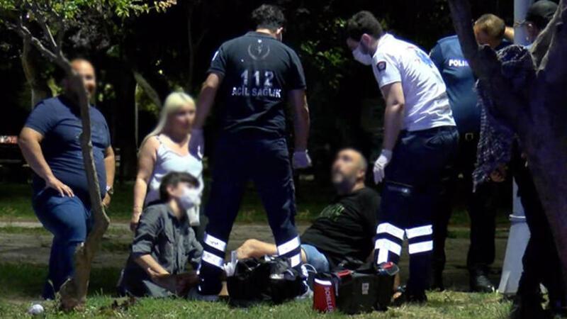 Kadıköy'de evlilik teklifi için gittikleri parkta kurşunların hedefi oldular