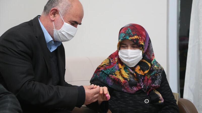 Cumhurbaşkanı Erdoğan o yüzüğü hediye etti