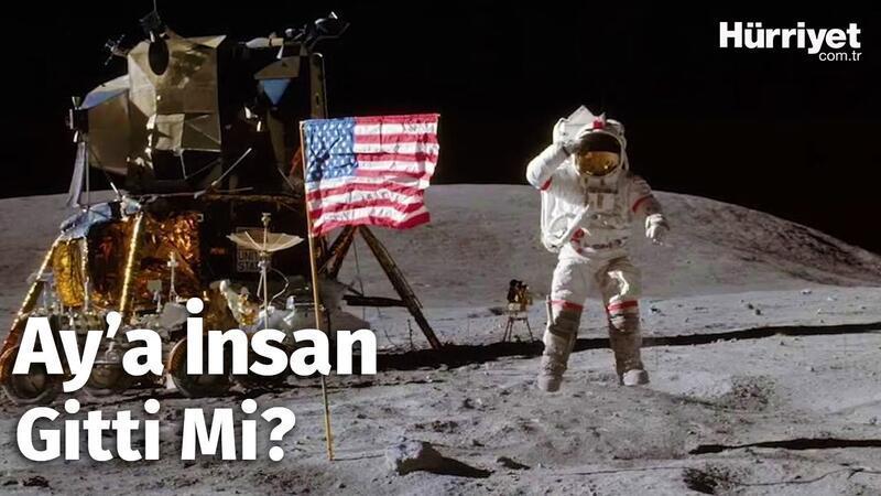 Tüm Dünyanın Merak Ettiği Soru! İnsanoğlu Ay'a Ayak Bastı Mı?