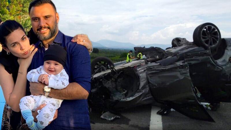Son dakika haberi: Şarkıcı Alişan kaza yaptı... Eşi ve oğlunun da içinde bulunduğu cip 30 metre sürüklendi!
