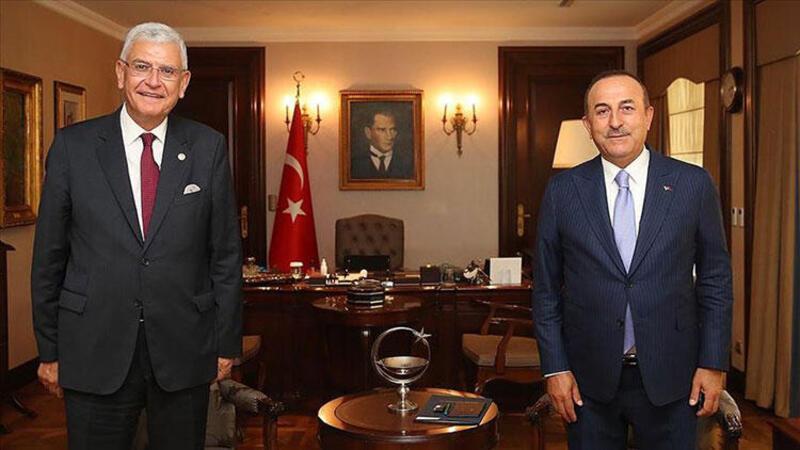 Bakan Çavuşoğlu, BM 75. Genel Kurul Başkanı Volkan Bozkır ile görüştü