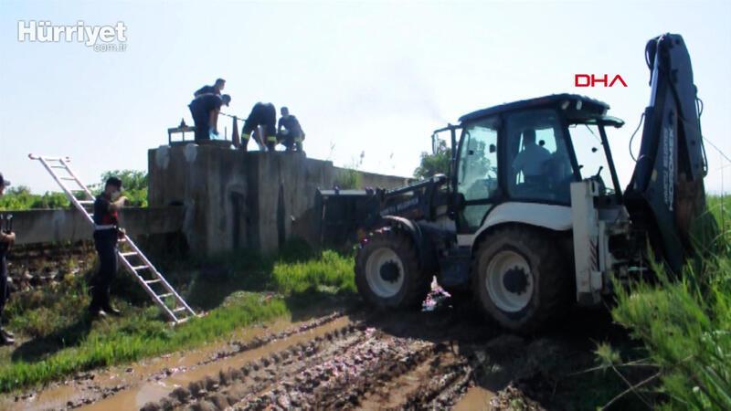 Manisa'da sulama kanalı dubasında erkek cesedi bulundu
