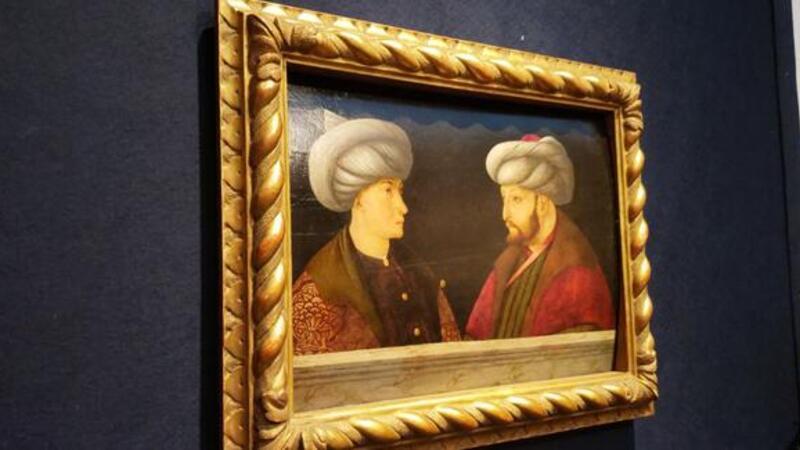 Fatih Sultan Mehmet portresi 770 bin sterlin'e satıldı