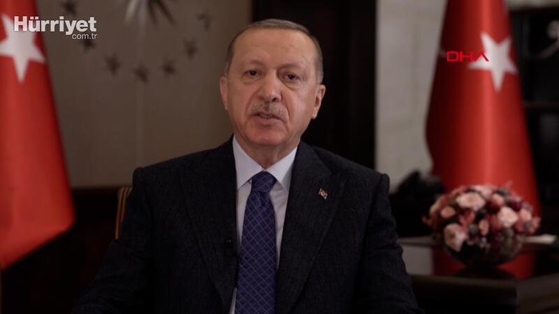 Cumhurbaşkanı Erdoğan'dan, Kore Savaşı'nın 70. yılı dolayısıyla videolu mesaj