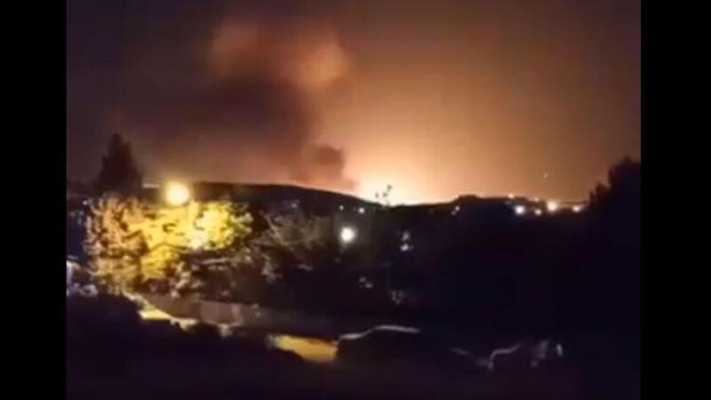 Son dakika haberi: İran'da korkutan patlama! O anlar kamerada