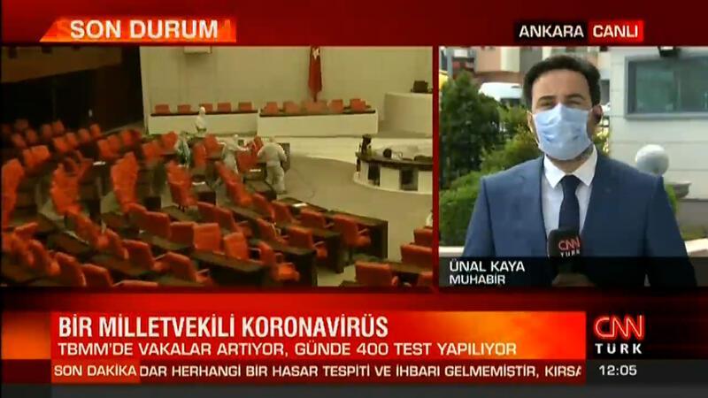 Son dakika haber... TBMM'de bir milletvekilinde koronavirüs tespit edildi