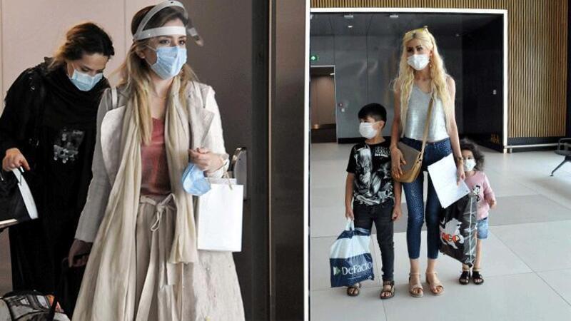 Türkiye'de ikamet eden İranlı yolcular İstanbul'a geldi