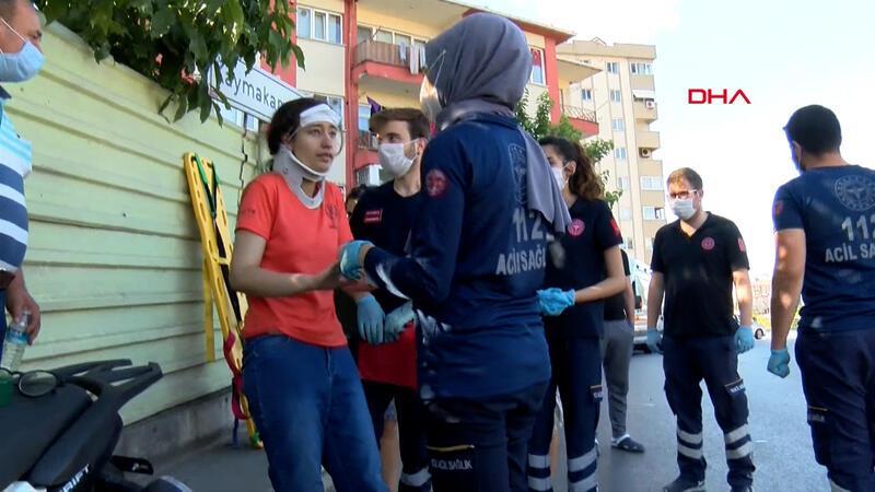 Sınav yolunda kaza; yaralı öğrenci hastaneye değil sınava gitti