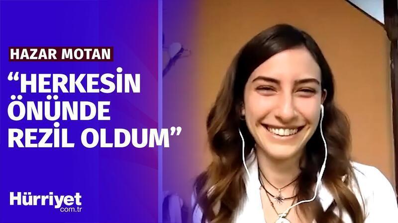"""Hazar Motan'dan Kırgın Çiçekler itirafı: """" Kızlar 'Güzin Abla' derdi """""""