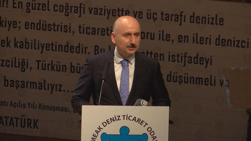 Bakan Karaismialoğlu, Deniz Ticaret Odası toplantısına katıldı