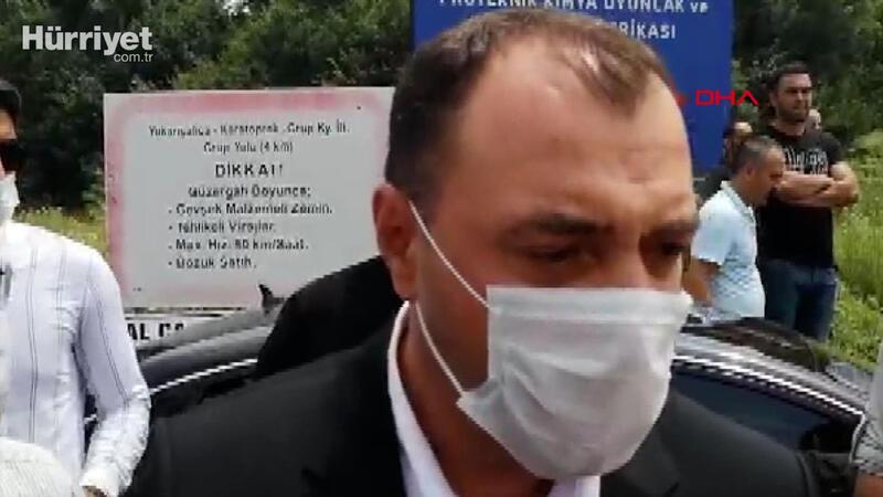 Sakarya Valisi Çetin Oktay Kaldırım'dan  patlama sonrası ilk açıklama