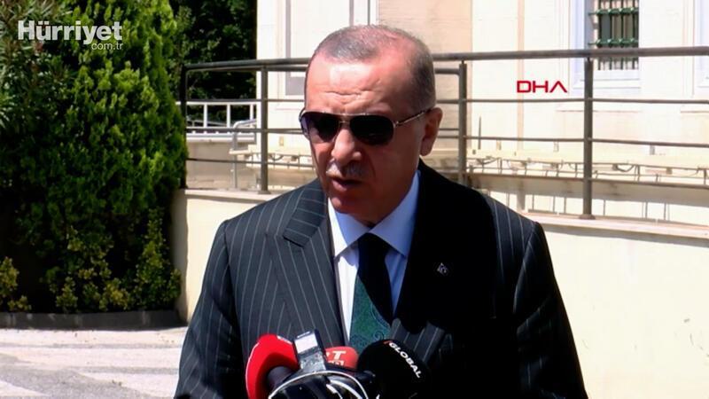 Cumhurbaşkanı Erdoğan'dan Sakarya'daki  patlama sonrası ilk açıklama