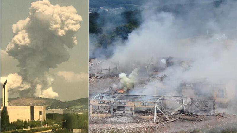 Patlamanın ardından risk danışmanı uyardı: Bunların gaz ve dumanları zehirlidir