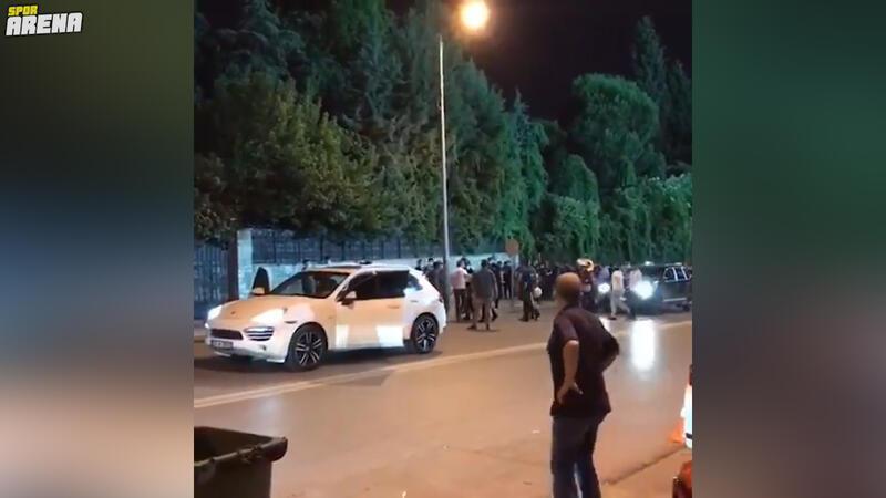 Başkan Ali Çetin ile Denizlispor taraftarları arasında yüksek gerilim!