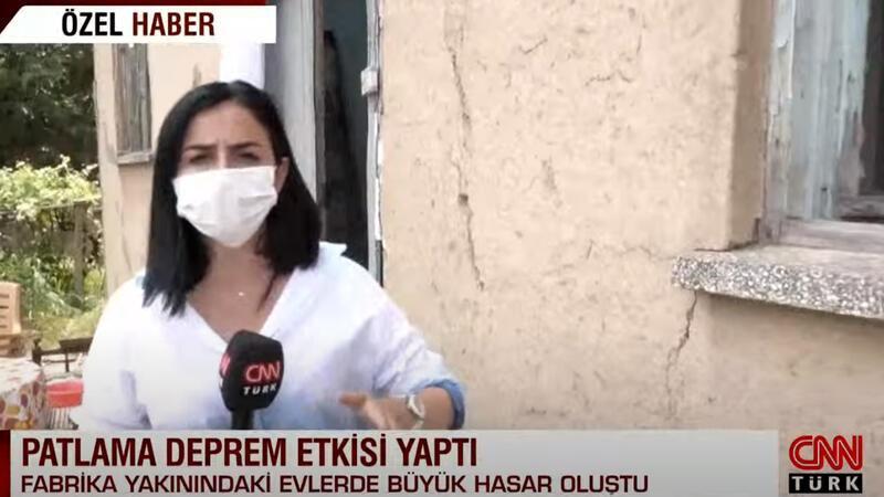 CNN Türk ekibi hasar gören köyleri görüntüledi