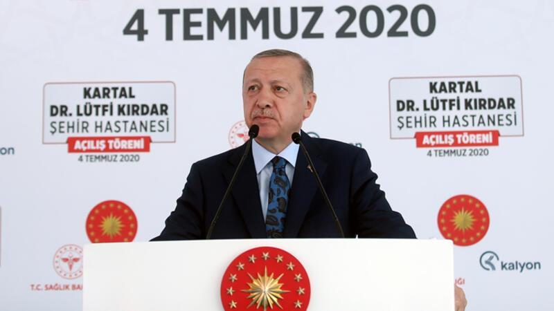 Cumhurbaşkanı Erdoğan: Valime de söyledim, olduğu anda toparlayın götürün