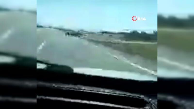 Sosyal medya canlı yayınında feci kaza!