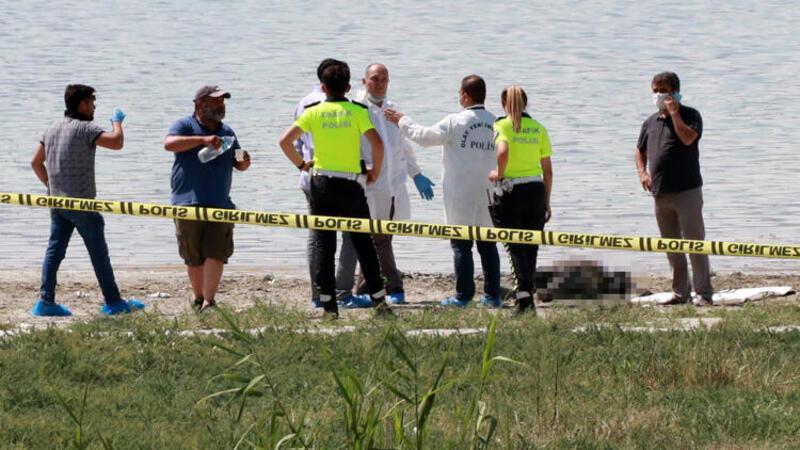 Burdur Gölü sahilinde erkek cesedi bulundu