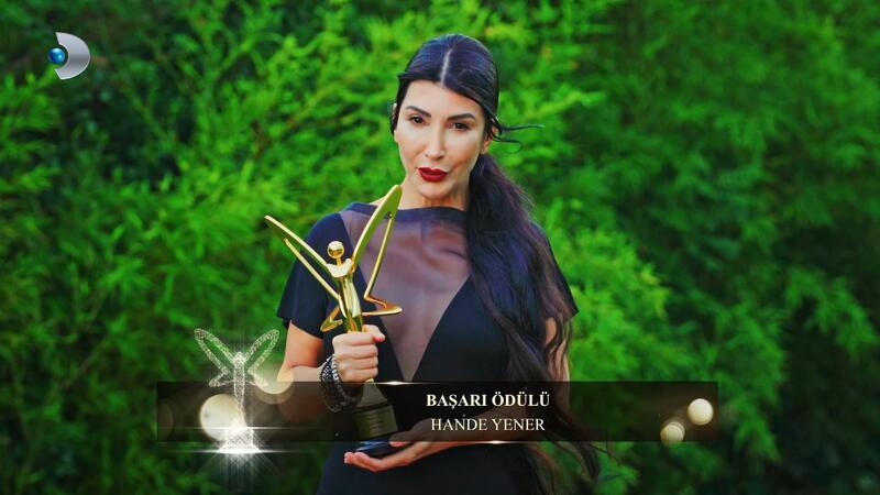 Başarı Ödülü Hande Yener'in oldu