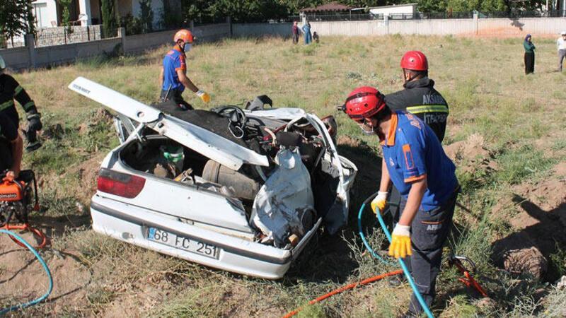Aksaray'da feci olay! Kız istemeden dönen aile kaza yaptı: 1 ölü