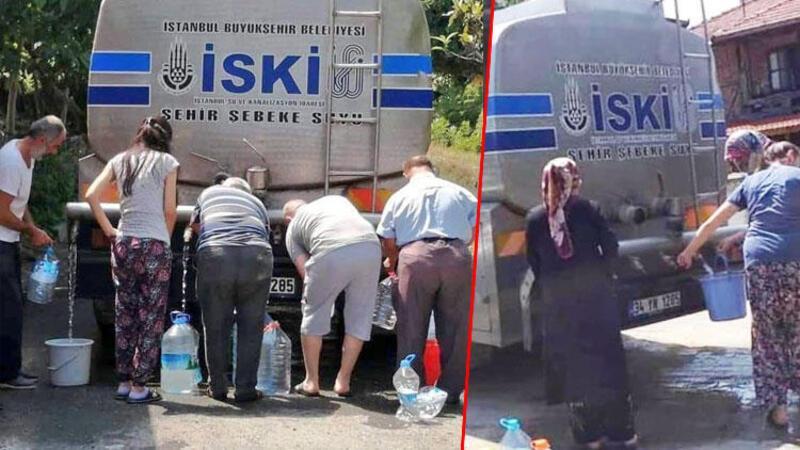 İstanbul'da bidonla su kuyruğu! Bakan Varank: Akşener ve Kılıçdaroğlu iyi seyirler