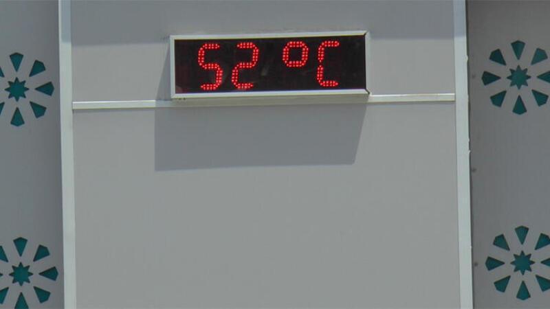Gaziantep'te, termometre 52 dereceyi gösterdi