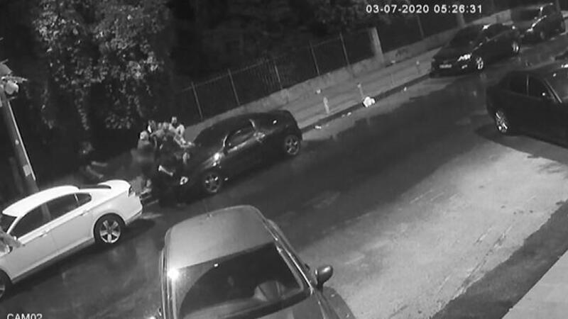 Küçükçekmece'de iki kardeşe dubalı saldırı kamerada