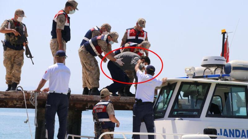 Kayıp tekne kaptanı keşif için arama-kurtarma çalışmalarının olduğu bölgeye getirildi