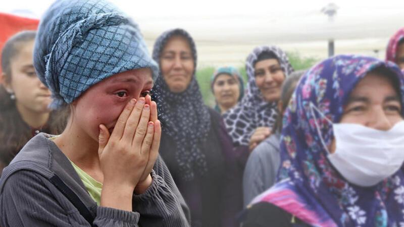"""Aksaray Valisi Aydoğdu'nun """"okuyacaksın"""" sözü okulunu bırakmak zorunda kalan Ayşenur'u gözyaşlarına boğdu"""