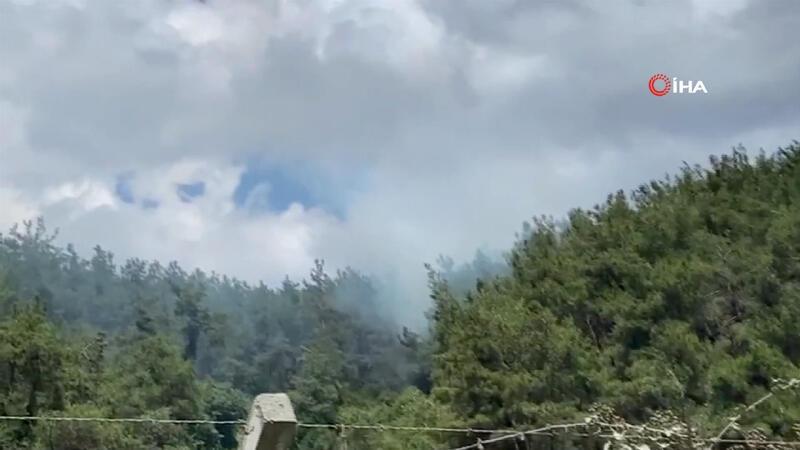 Son dakika... Sarıyer'de ormanlık alanda yangın!