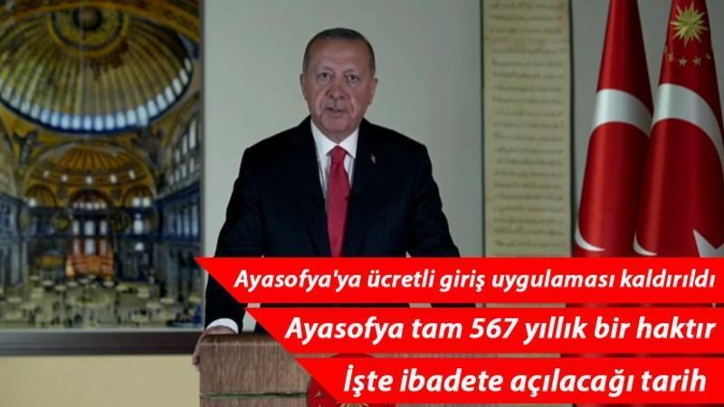 Son dakika haberi: Cumhurbaşkanı Erdoğan, Millete Sesleniş konuşması yaptı