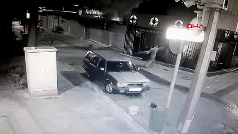 Hırsıza demir korkuluk engeli! Ne yaptıysa başaramadı