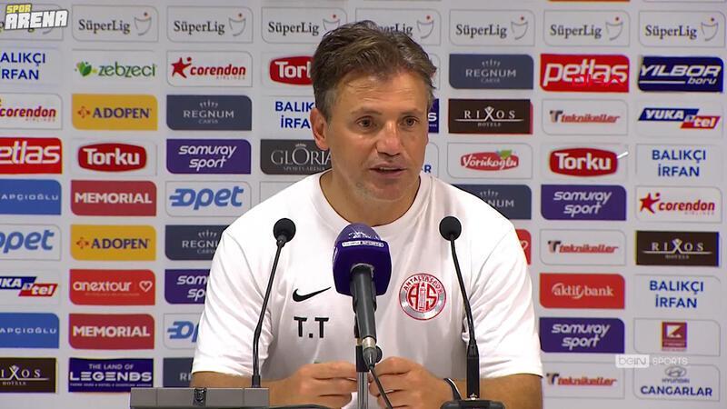 Tamer Tuna: 'Alanyaspor ile oynadığımız kupa maçından dersler çıkardık'