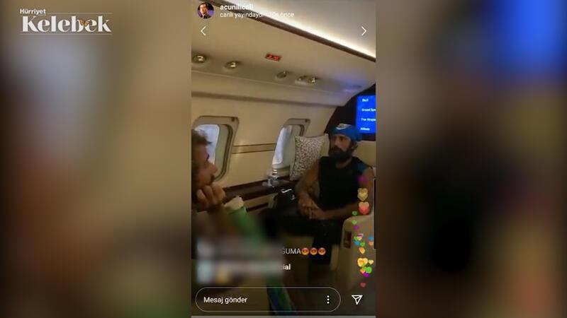 Survivor finalistleri Barış, Yasin ve Cemal Can Acun Ilıcalı'nın uçağı ile Türkiye'ye dönüyor...