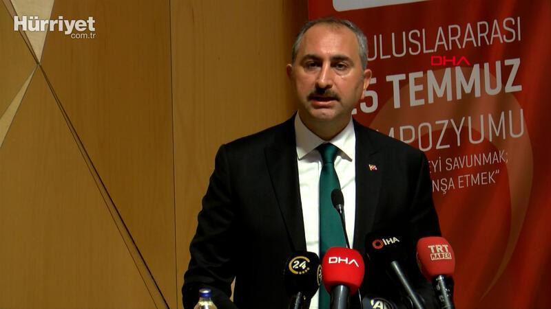 Adalet Bakanı Abdulhamit Gül: 4 bin 130 sanığa  ceza verildi