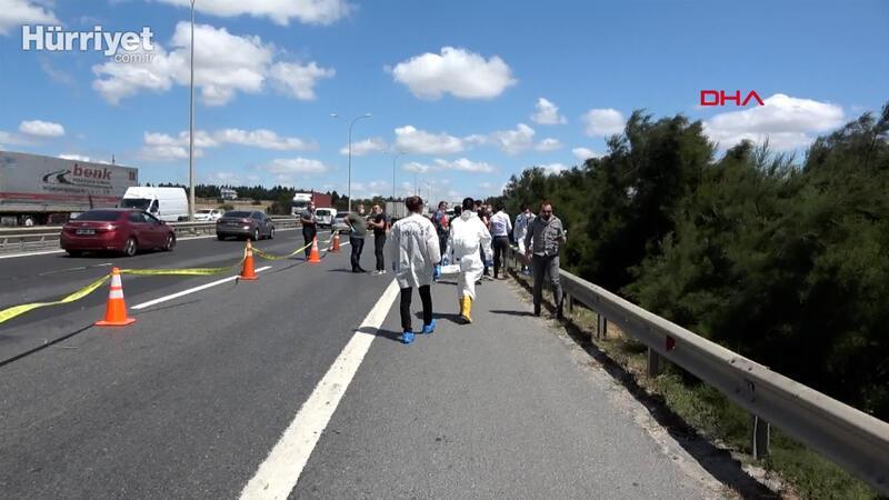 TEM kenarında dehşet: ceset parçaları bulundu