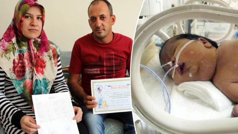 Doğum raporunda erkek olan bebek kız çıkınca aile hastaneden şikayetçi oldu