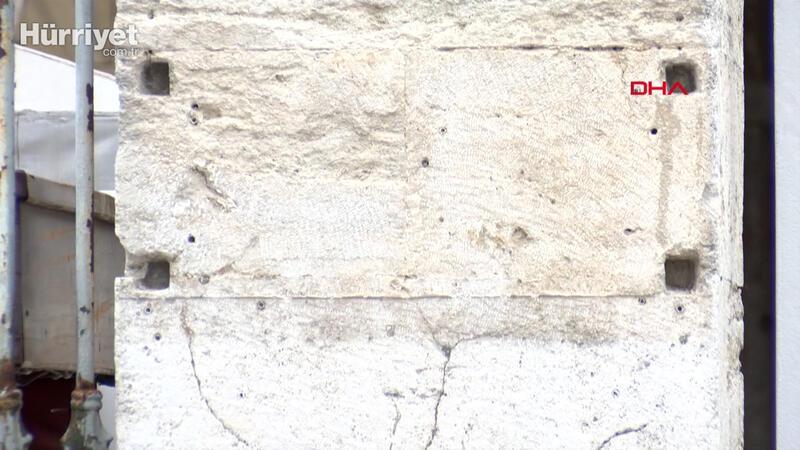 Ayasofya'da müze yazan tabela söküldü, çalışmalar sürüyor