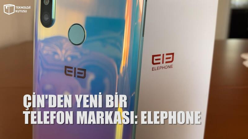 Çinli telefon markası Elephone Türkiye'de