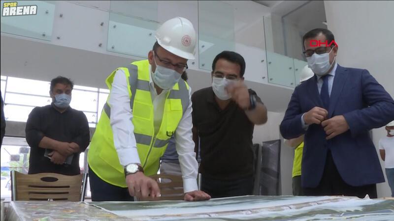Bakan Kasapoğlu, İstanbul'da yapımı süren tesisleri inceledi