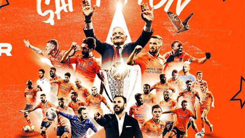 Süper Lig 2019-20 Cemil Usta sezonu şampiyonu Medipol Başakşehir!