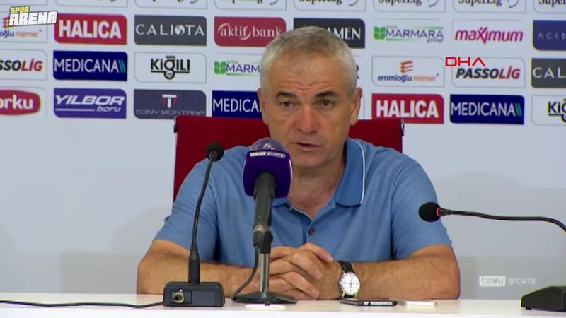 Demir Grup Sivasspor Teknik Direktörü Rıza Çalımbay' dan maç sonu açıklaması