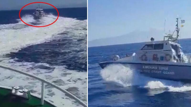 Son dakika... Türk balıkçılarına Yunan askerinden taciz