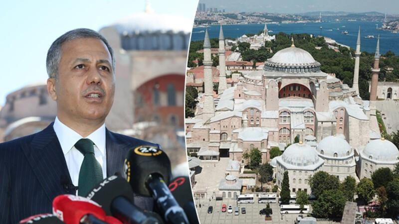 İstanbul Valisi Ali Yerlikaya'dan Ayasofya'da flaş açıklamalar