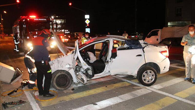Düzce'de zincirleme kaza! 5'i çocuk 7 kişi yaralı
