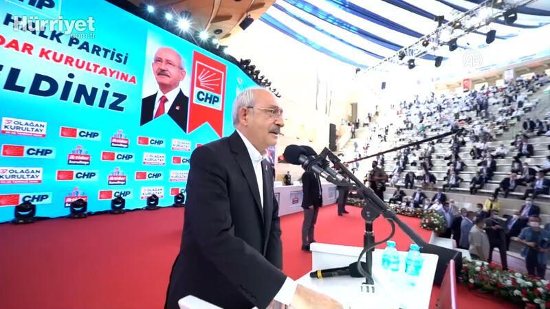 CHP Genel Başkanı Kılıçdaroğlu, 37. Olağan Kurultayın açılışını yaptı