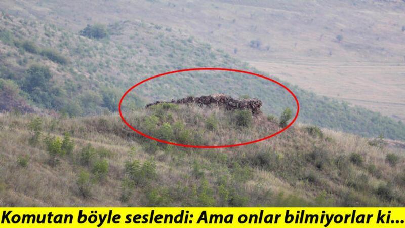 Azerbaycan Ordusu'nun sınır hattındaki mevzilerini görüntüledi