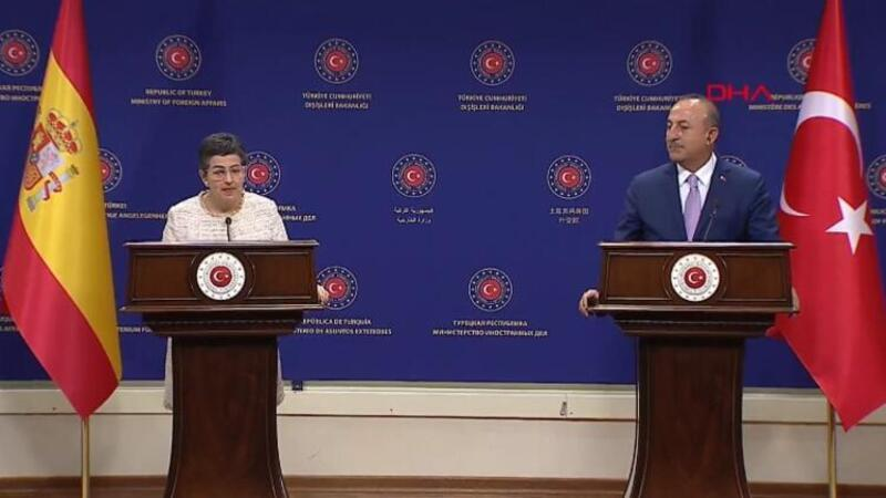 Son dakika haberi: İspanyol Bakan'ın Ayasofya sözlerine Çavuşoğlu'ndan ders gibi cevap