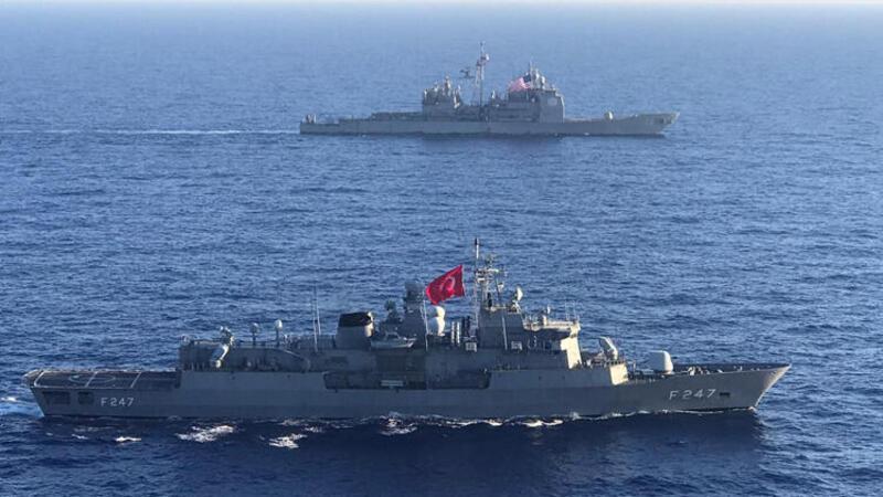 Son dakika haberi: Türkiye ve ABD'den Akdeniz'de ortak tatbikat
