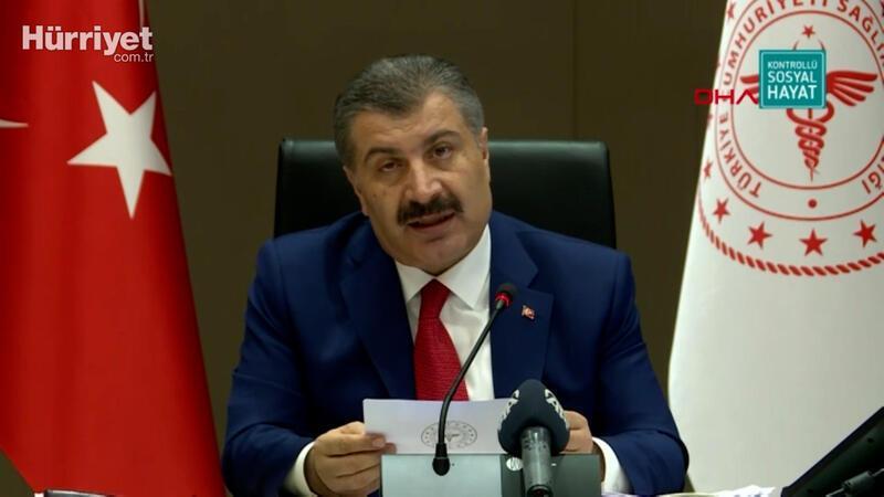 Sağlık Bakanı Fahrettin Koca, Bilim Kurulu toplantısı  sonrası açıklamalarda bulundu